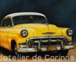 1- Chevrolet bel air 1953               0.46X0.38
